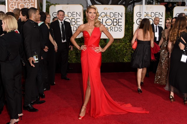 Heidi Klum Golden Globe Awards Nice Beautiful Gorgeous Cute Stunning