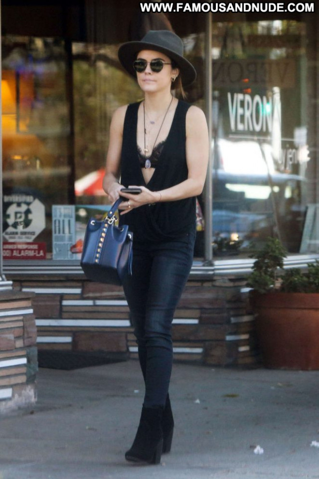 Lucy Hale Studio City Babe Black Celebrity Beautiful Posing Hot
