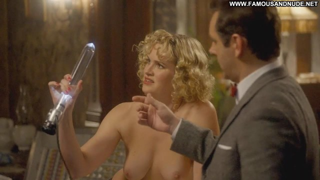 Nicholle Tom Masters Of Sex Topless Table Doctor Cute Nude Scene Nude