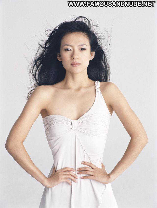 Zhang Ziyi Hot Celebrity Babe Posing Hot Cute Sexy Dress Posing Hot