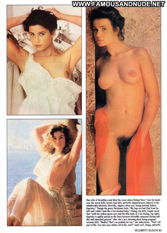 Valerie Kaprisky Showing Tits Hot Tits Pussy Hairy Celebrity Posing