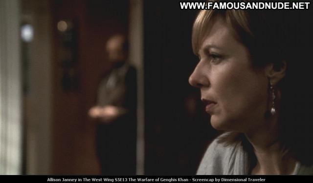 Allison Janney The West Wing Tv Series Beautiful Posing Hot