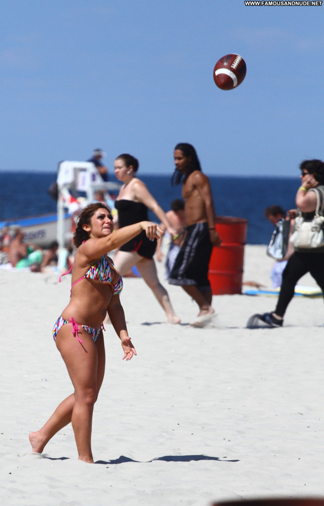Deena Cortese Jersey Shore High Resolution Babe Beach Bikini Posing