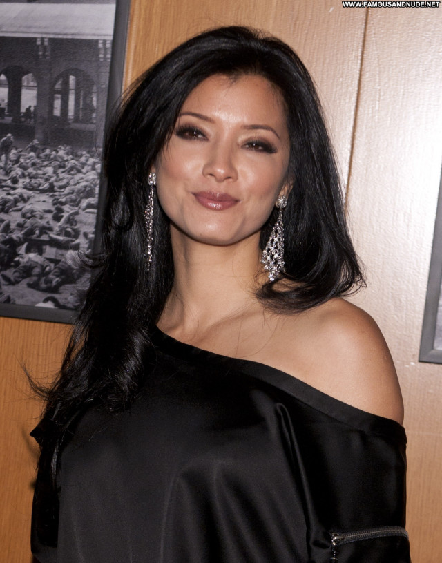 Kelly Hu Los Angeles Celebrity Posing Hot Babe Beautiful Asian High