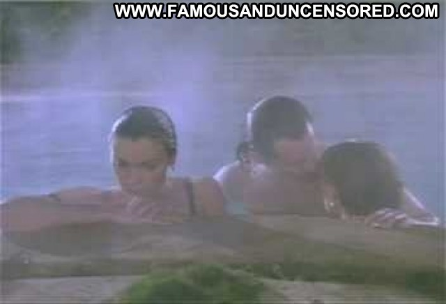 Ally Walker Nude Sexy Scene Just Looking Pool Kissing Babe
