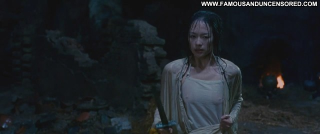 Ziyi Zhang Crouching Tiger Hidden Dragon Wet Shirt Babe Posing Hot