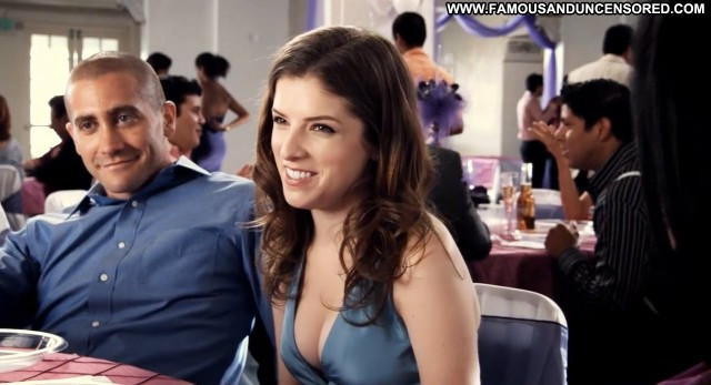 Anna Kendrick End Of Watch Table Party Female Beautiful Sexy Nude