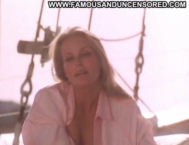 Bo Derek Showing Tits Blonde Boat Actress Celebrity Female