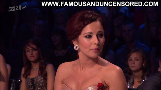 Cheryl Cole X Factor Showing Cleavage Redhead Showing Tits