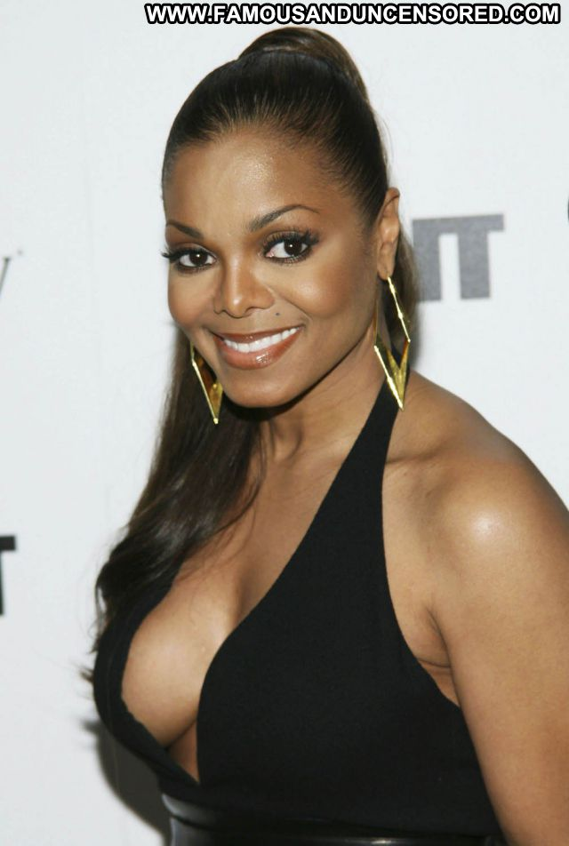 Janet Jackson Ebony Singer Cute Hot Celebrity Posing Hot Famous Babe