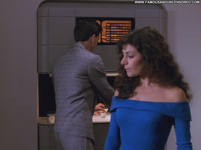 Marina Sirtis Star Trek Babe Posing Hot Beautiful Celebrity Nude