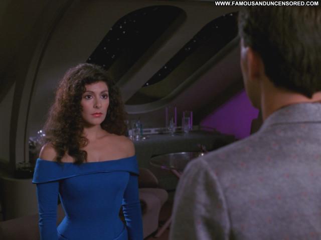 Marina Sirtis Star Trek Posing Hot Babe Beautiful Celebrity Cute Sexy