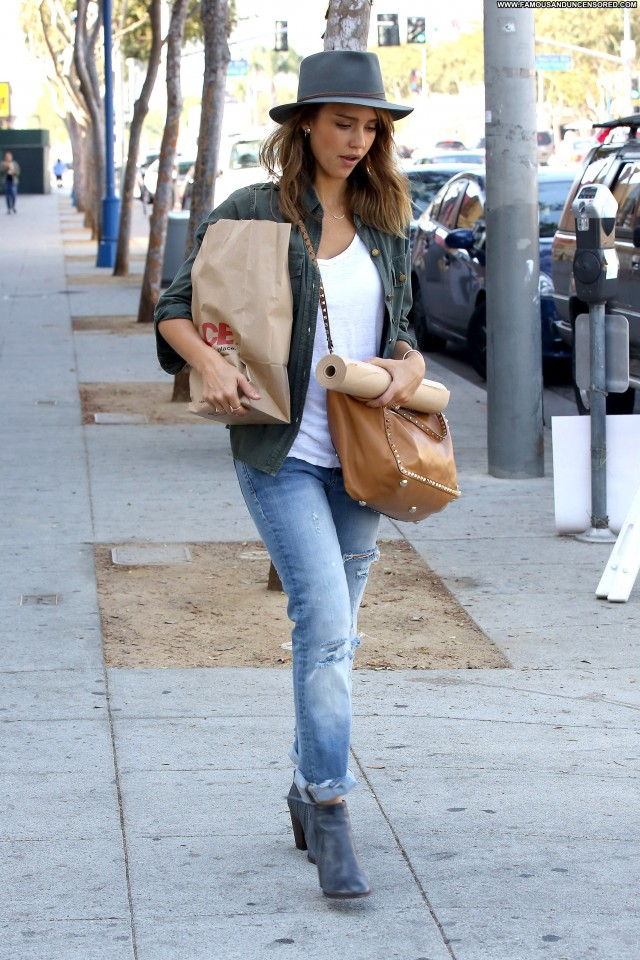 Jessica Alba West Hollywood Celebrity Hollywood High Resolution