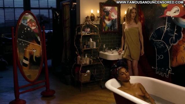 Freema Agyeman Sense8 Tv Show Lesbian Showing Tits Actress