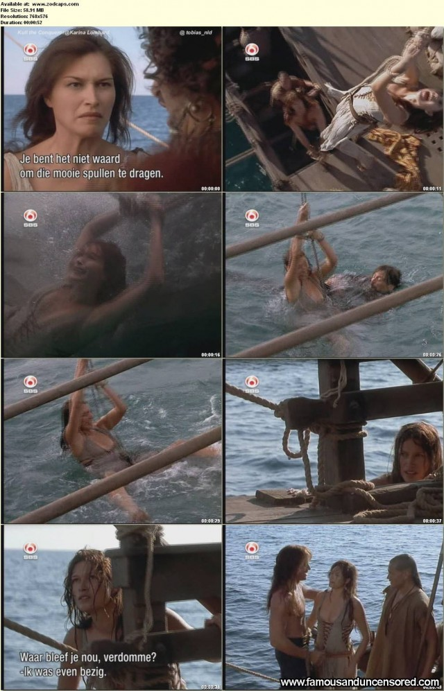 Karina Lombard Kull The Conqueror Celebrity Nude Scene Sexy Beautiful
