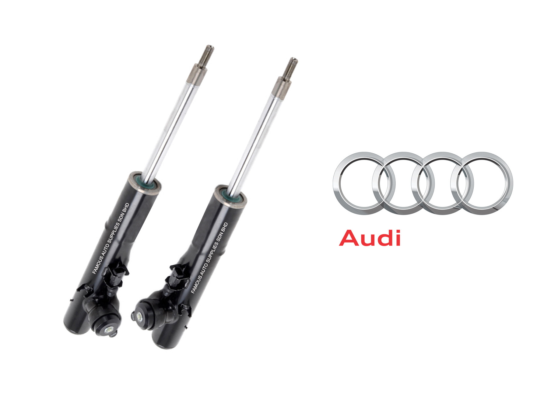 Genuine Front Electric Ads Shock Absorber Audi A4 B8 A5