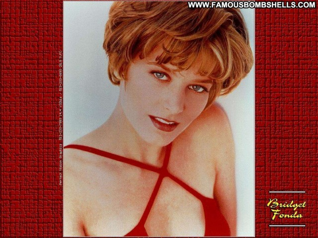 Bridget Fonda Miscellaneous Sensual Celebrity Blonde Skinny Pretty