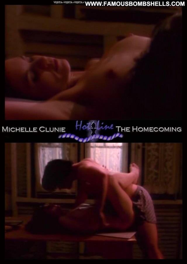Michelle Clunie Hot Line Sultry Celebrity Sexy Medium Tits Brunette
