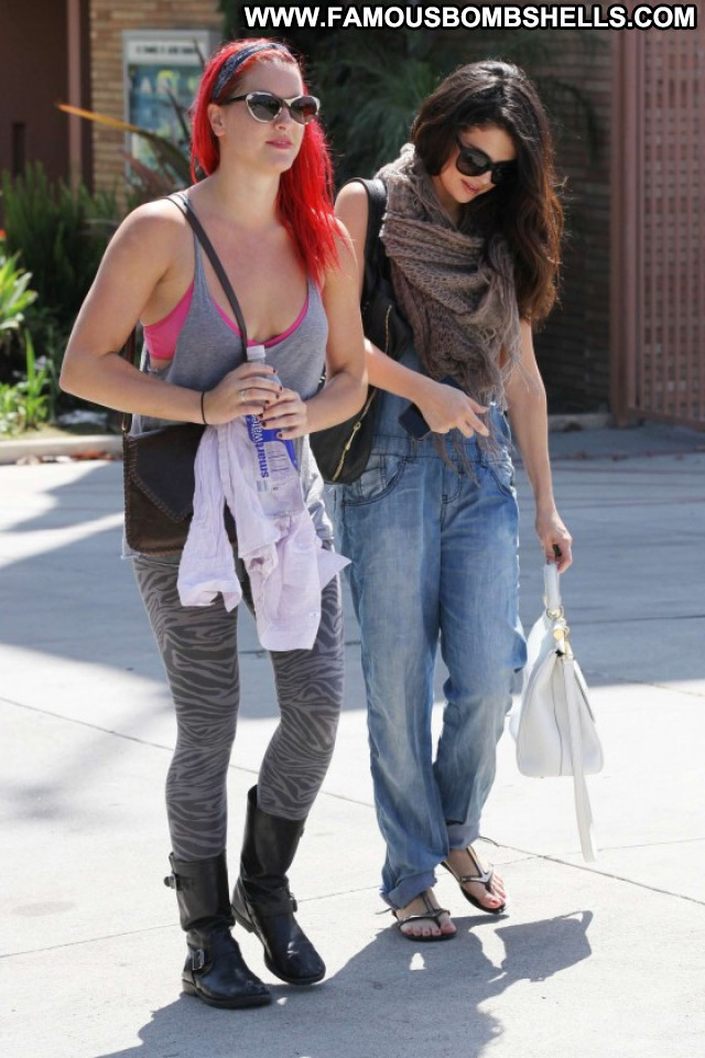 Selena Gomez West Hollywood Beautiful Hollywood Babe Celebrity Posing