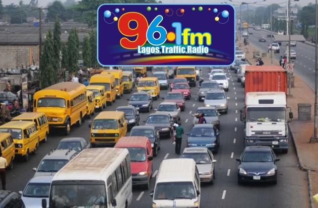 Traffic station on radio