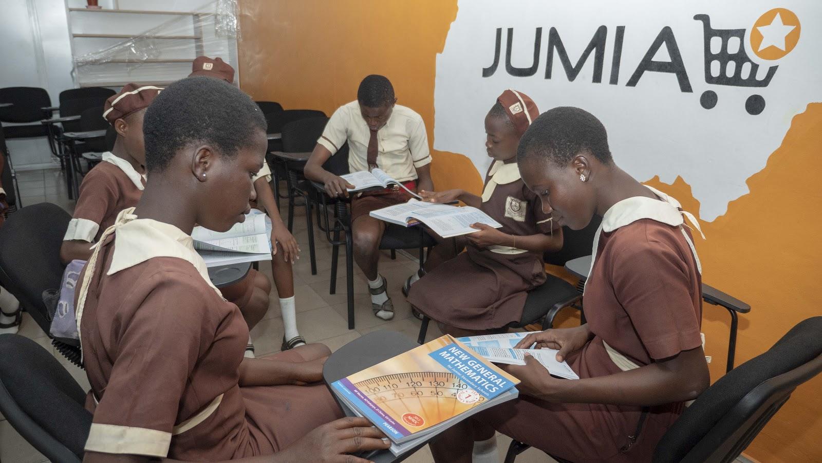 Jumia Donates Hundreds Reading And Writing Materials To