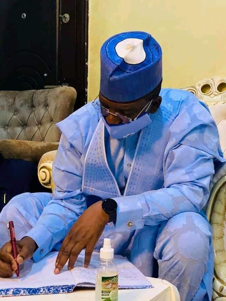 Governor Matawalle Condoles With Late Mallam Inuwa Abdulkadir's Family