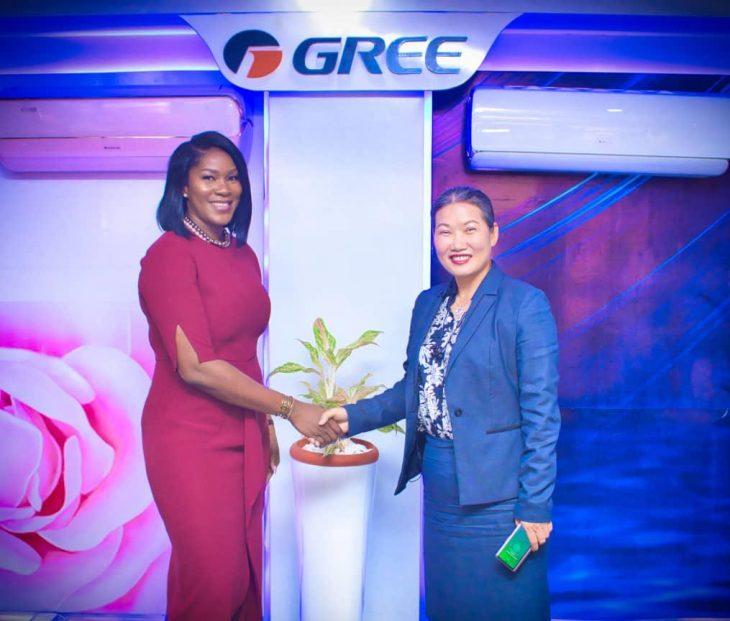 Gree AC Unveils Stephanie Linus As Brand Ambassador