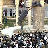 Fall of Saddam Hussein's Statue