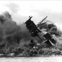 USS Arizona Struck