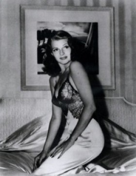 Image result for bob landry photo of rita hayworth