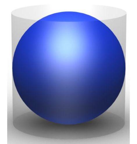 Archimede: la sfera all'interno del cilindro