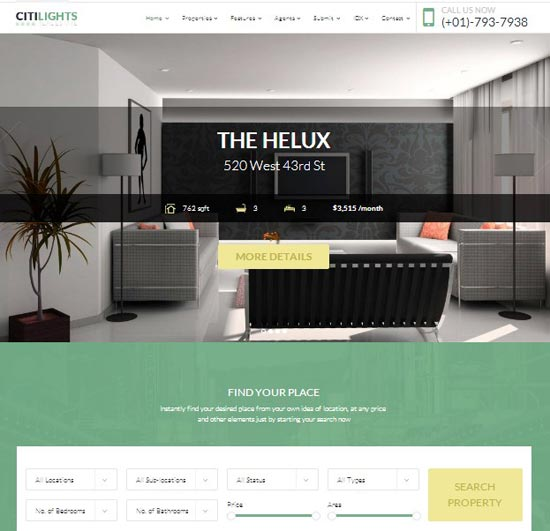 citilights-wordrpess-real-estate-theme