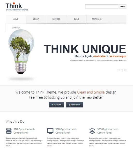 think-wordpress-corporeate-theme