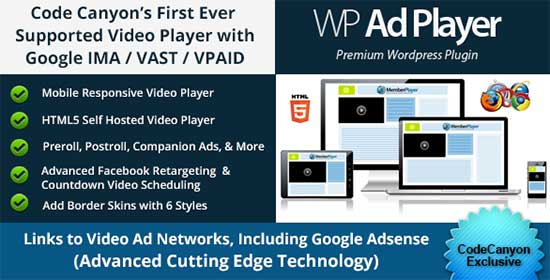 Video Ads Player with Google IMA