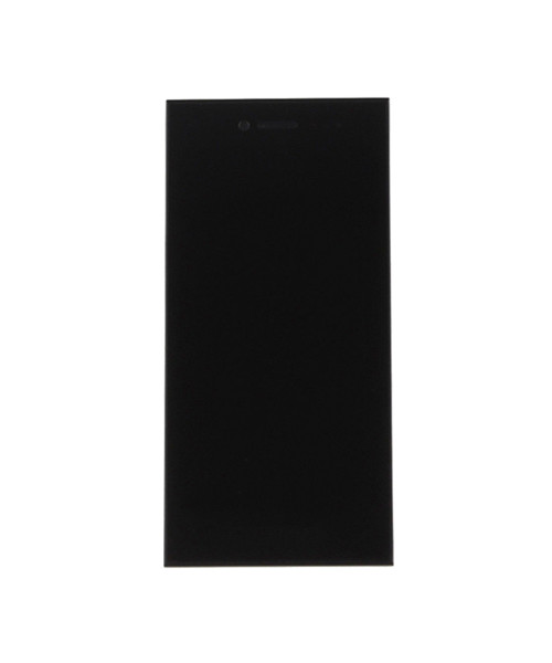 LCD and Digitizer Screen Full Assembly Replacement With Frame For  Blackberry Leap Z20 - Black