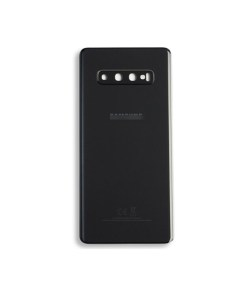 OEM Battery Cover with Camera Glass for Samsung Galaxy S10 Plus - Prism Black