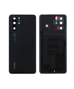 OEM Battery Cover with Camera Glass for Huawei P30 Pro - Black