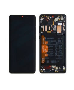 OEM Screen Replacement with Frame for Huawei P30 Pro - Black