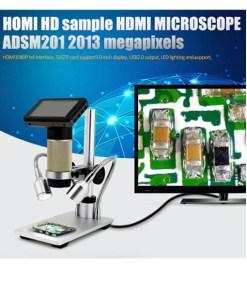 HDMI 1080P 45X HDMI USB Microscope with 3 LCD Display Andonstar ADSM201