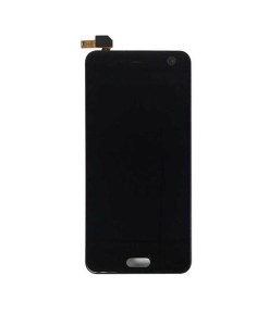 LCD Display and Touch Screen Digitizer Assembly with Frame For ZTE Blade V8 Black - Black