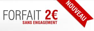 Free Mobile forfait 2 euros sans engagement