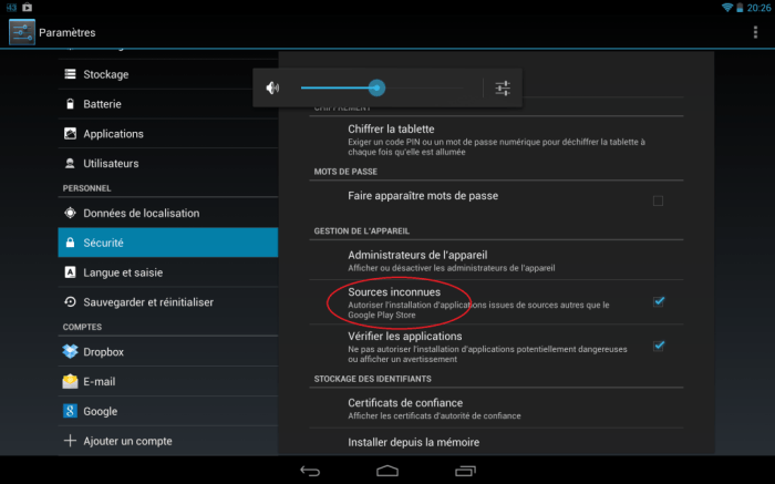 Flash Player compatible avec Android KitKat