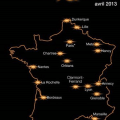 4G , couverture Orange en France pour 2013