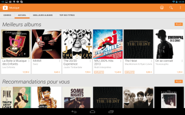 Android Market nouvelle interface