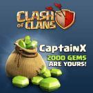 Gagner gemmes clash of clan
