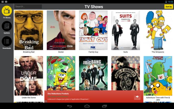 Regarder les séries TV américaines