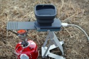 FlameStower, chargeur smartphone de camping