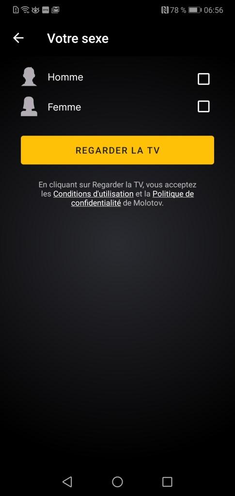 molotov tv regarder tv