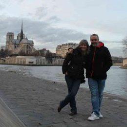 Nous - Paris - Quai de Seine - Notre dame - 2015