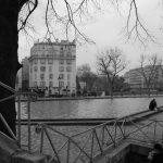 Canal St-Martin – Bassin de la villette – Paris 10 et 19